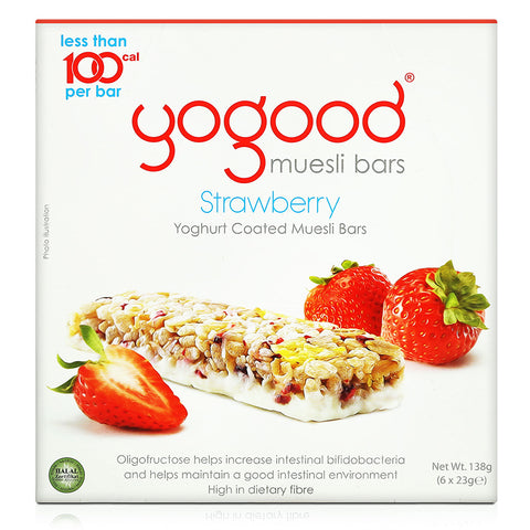 Yogood Muesli Bars 138g (Blueberry Cranberry/Strawberry)