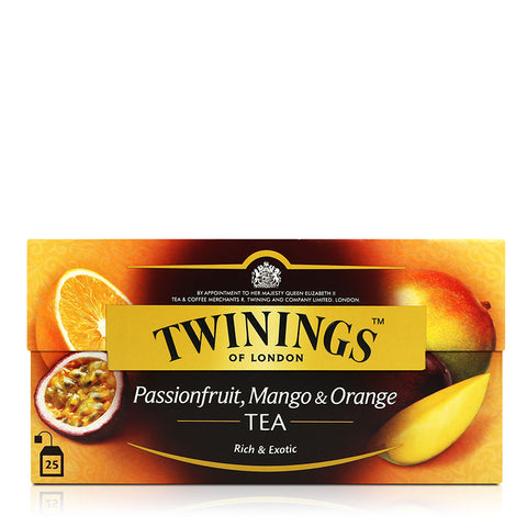 Twinings White Tea 50g  25's (Four Red Fruits/Passionfruit/Peach/White)
