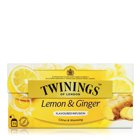 Twinings Tea 25's 25g (Camomile/Earl Grey/Jasmine/Lemon Ginger/Peppermint/Pure/Rosehip/Strawberry&Mango)