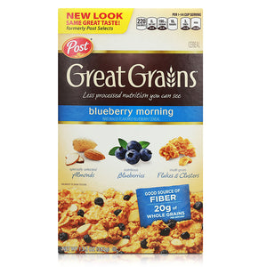 Post Selects Blueberry Morning Cereal 382g