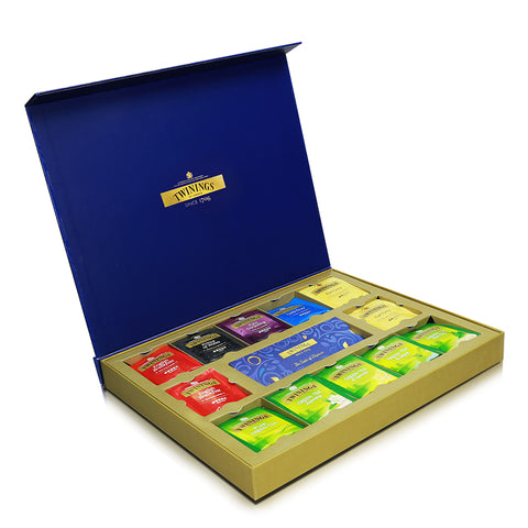 Twinings Festive Gift Set (Selection of 10 different teas) 48 x 2g
