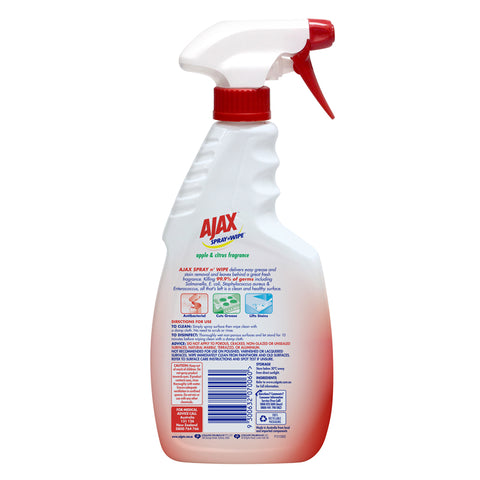 Ajax Multi Purpose Spray & Wipe Apple 500ml