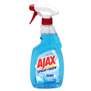 Ajax Multi Purpose Spray & Wipe Glass 500ml
