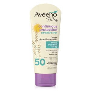 Aveeno Baby Continuous Protection Sensitive Skin Sunscreen 88ml