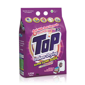 Top Detergent Anti-Mite Dust Super Low Suds 3kg