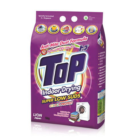 Top Detergent Anti-Mite Dust Super Low Suds 5kg