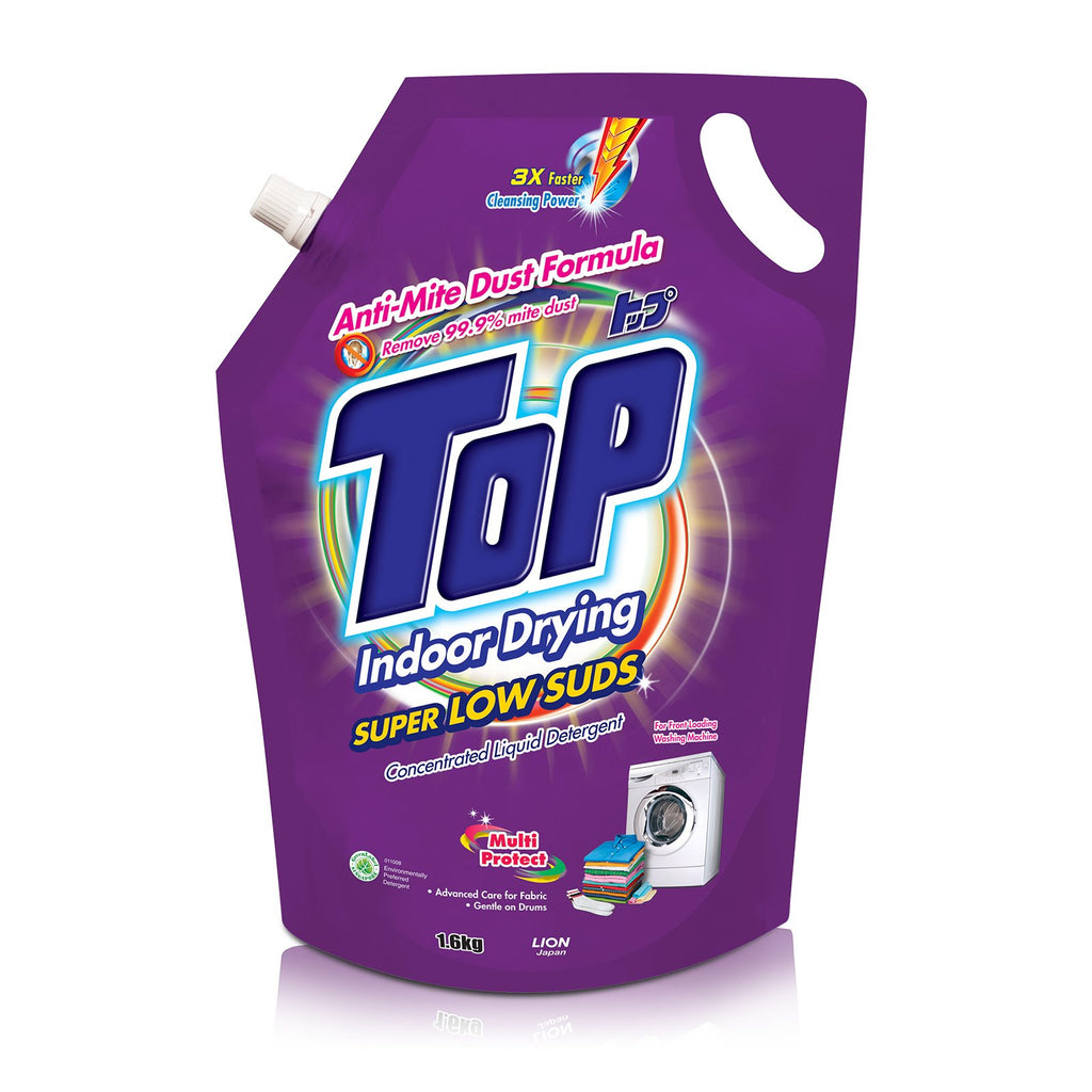 Top Concentrated Liquid Detergent Super Low Suds Refill 1.6kg