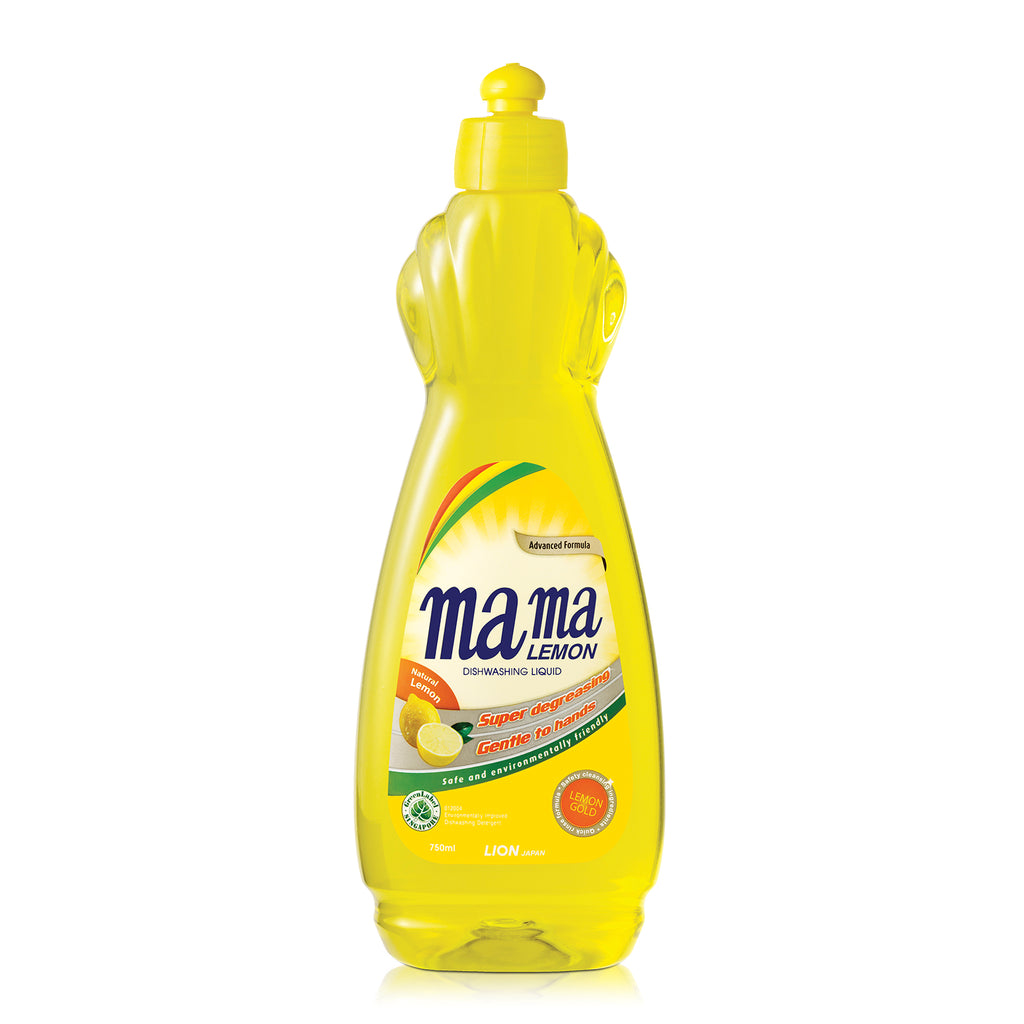 Mama Lemon Dishwashing Liquid Lemon Gold 750ml