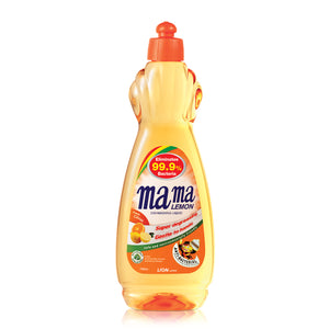 Mama Lemon Dishwashing Liquid Anti-Bacteria 750ml