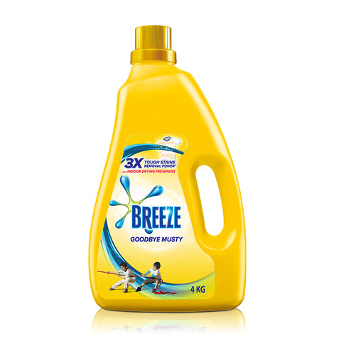 Breeze Goodbye Musty (Indoor Drying) Liquid Detergent