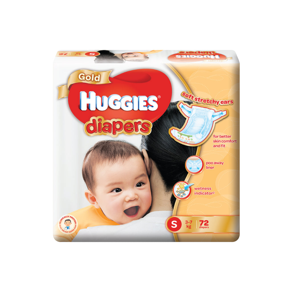 Huggies Gold Diapers S72
