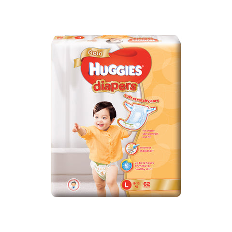 Huggies Gold Diapers (NB/S/M/L/XL)