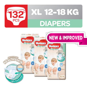 Huggies Platinum Diapers Tape XL 44pcs x 3 packs