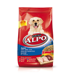 Alpo Adult Chicken, Liver & Vegetable Flavour 3kg