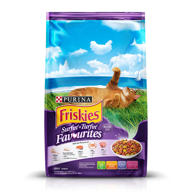 Friskies Surfin Favourites 1.2kg
