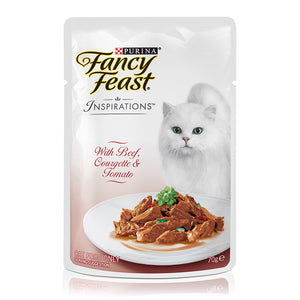 Fancy Feast Beef, Courgette & Tomato 70g