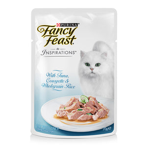 Fancy Feast Tuna, Courgette & Wholegrain Rice 70g