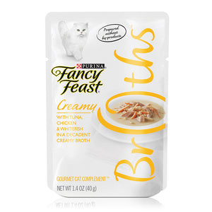 Fancy Feast Creamy in a Decadent Creamy Broth 40g