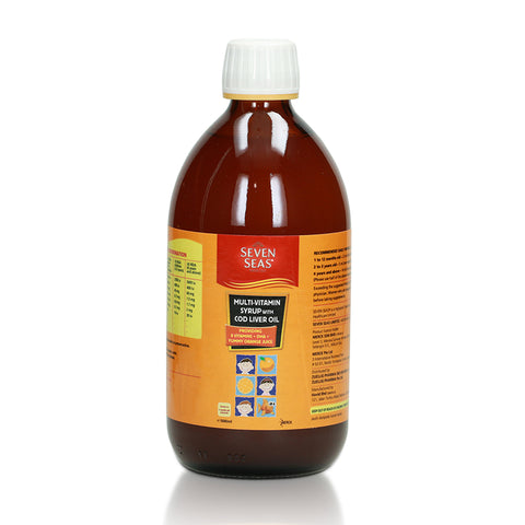 Seven Seas Kids Multivitamin Syrup with Cod Liver Oil 500ml