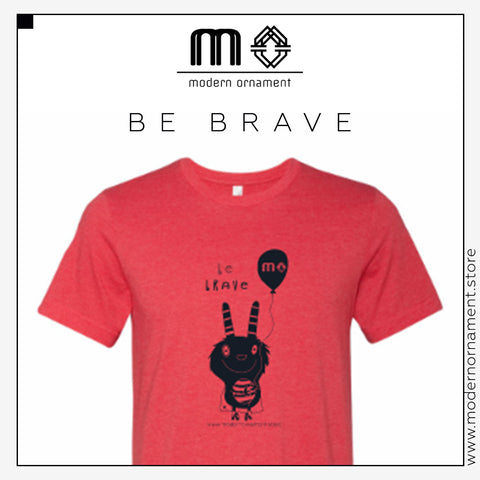 Modern Ornament's Brody the Brave T-shirt