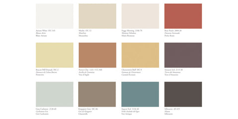 Benjamin Moore Paints Color Palette of the Year 2021