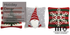 Modern Ornament Holiday Decorative Pillows