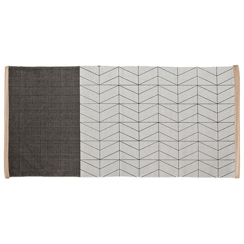 Rug - Grey Patterned