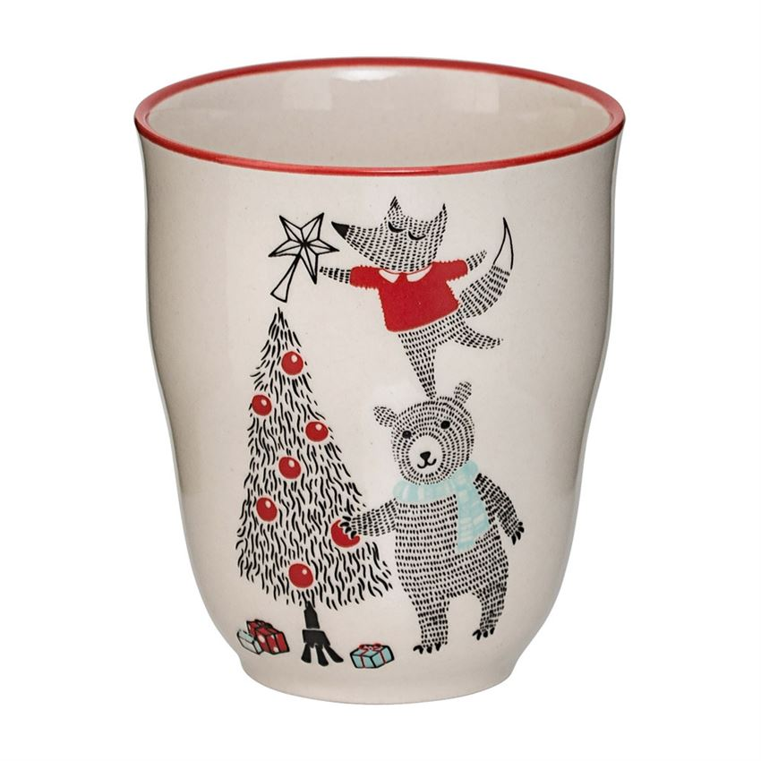 Tree and Animal Friends Cup