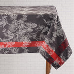 Charcoal with Accent Tablecloth