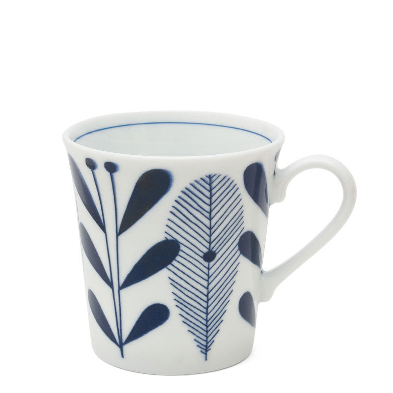 Blue and White Mug Tableware