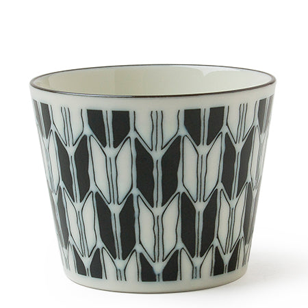Black and White Cup Tableware