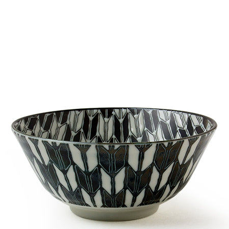 Black and White 6 inch Bowl Tableware