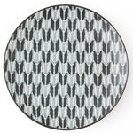 Black and White 9 inch Dish Tableware