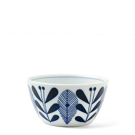 Blue and White 4.25 inch Bowl Tableware