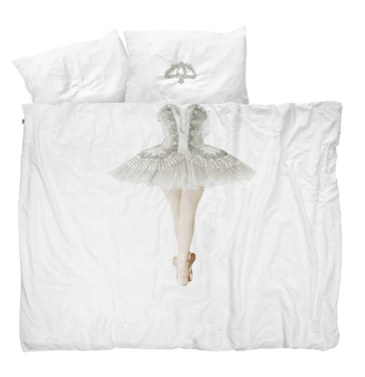 Ballerina Queen Duvet Cover