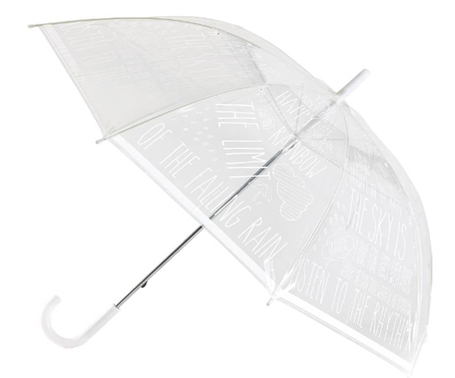 Word White Umbrella