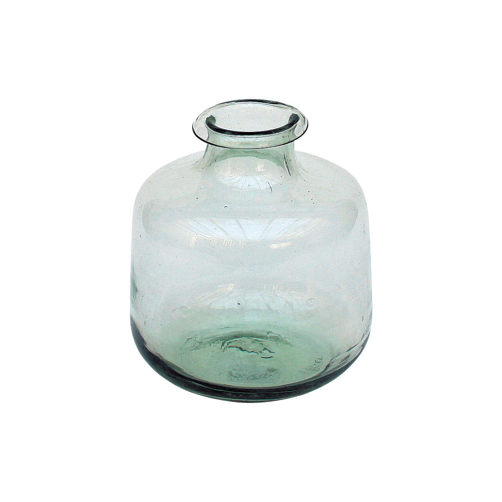 Thick Recycled Glass Vase