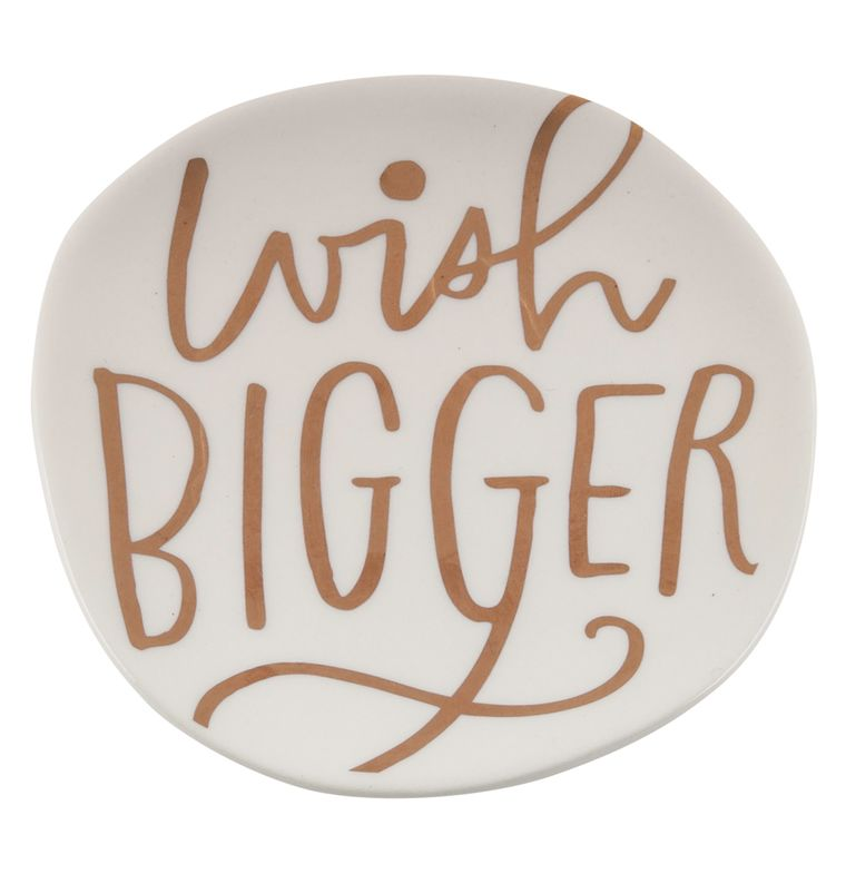 Wish Bigger Trinket Tray