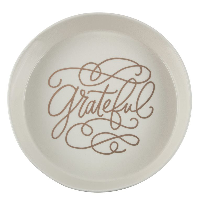 Serving Dish - Grateful