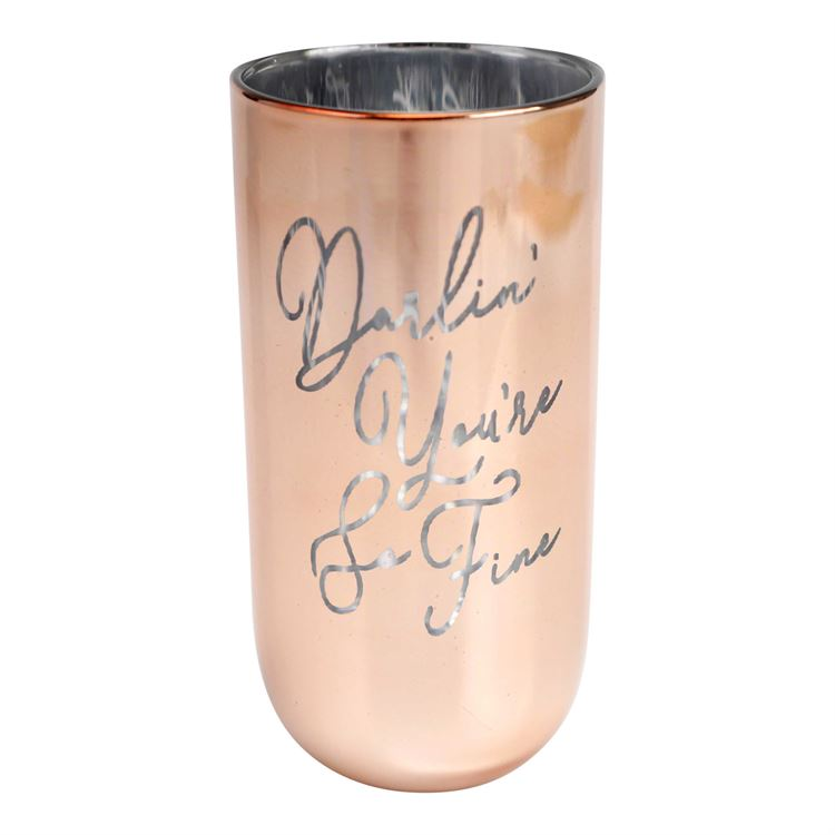 Darlin' You're So Fine Drinking Glass