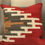 Red Fair Trade Pillow