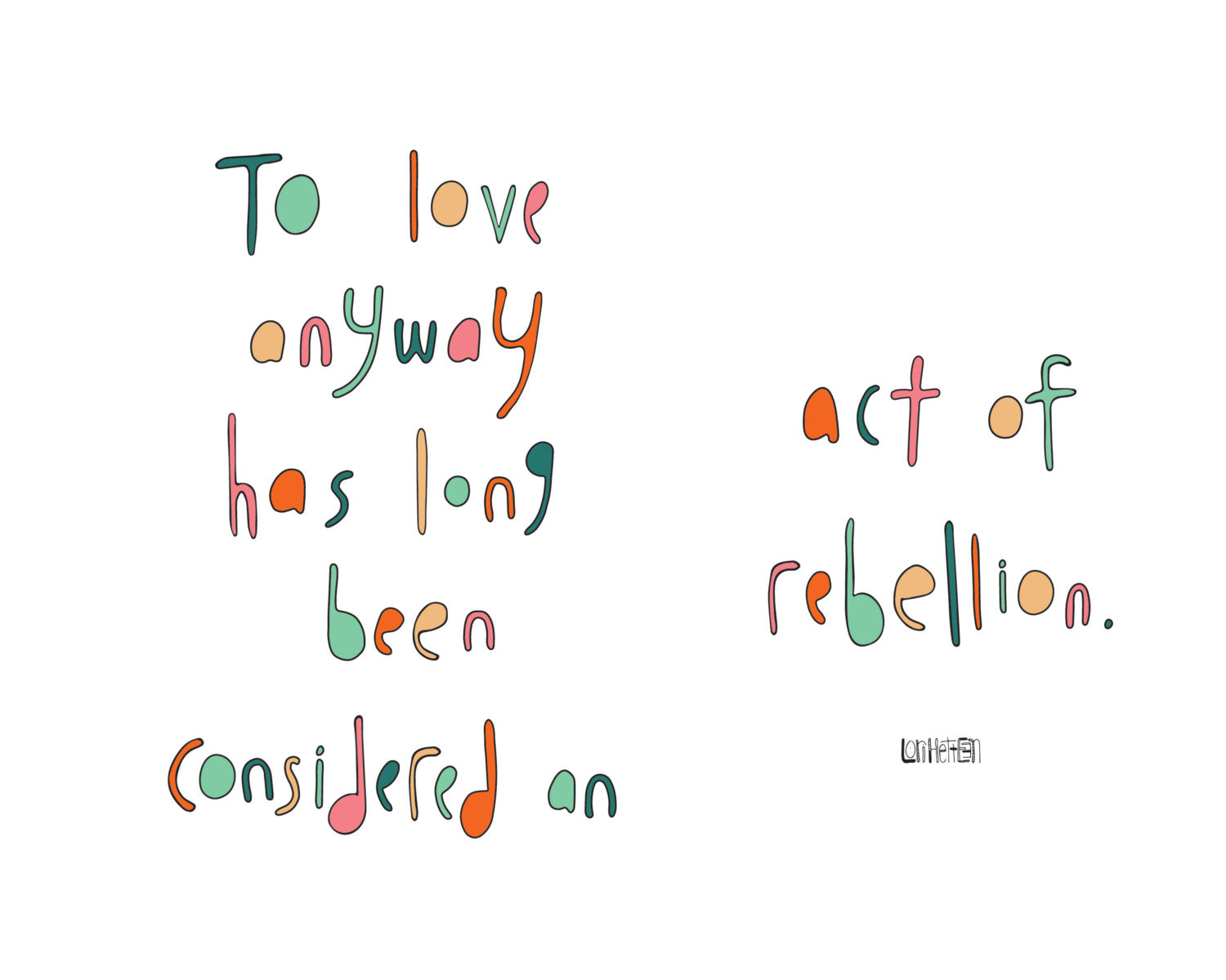 Love Rebellion Artwork