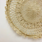 Small Round Jute Wall Hanging