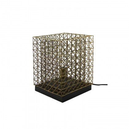 Table Lamp - Metal Cage