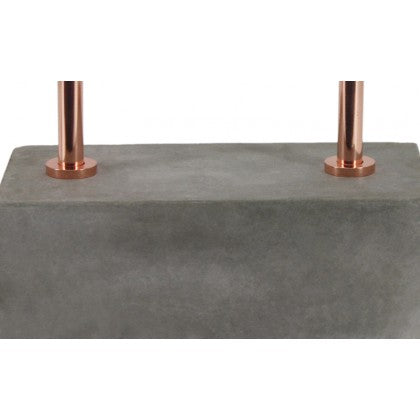 Small Dual Concrete Table Lamp