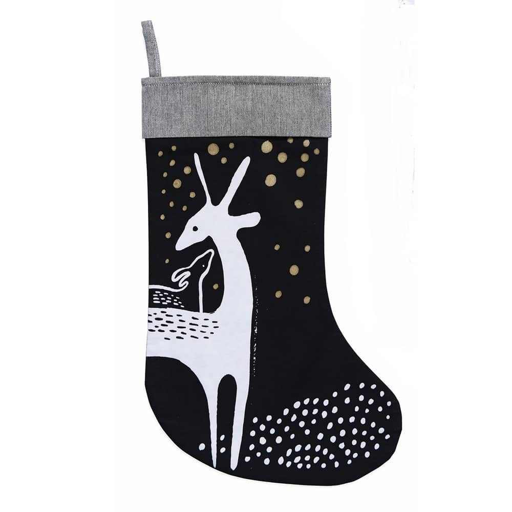 Deer Holiday Stocking