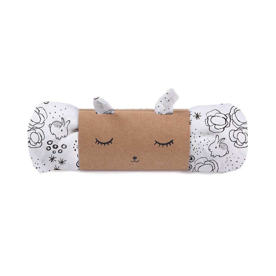 Bunnies Organic Muslin Swaddle