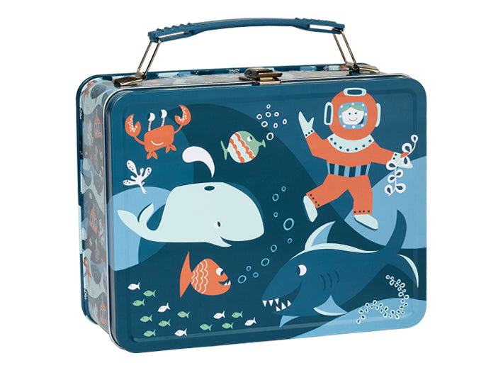 Ocean Metal Lunchbox