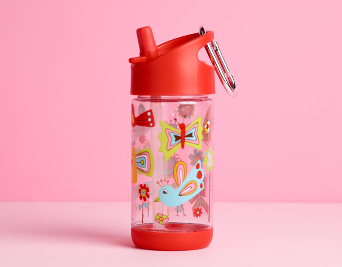 Butterfiles Flip & Sip Bottle