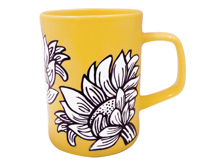 Sunflower Yellow Mug